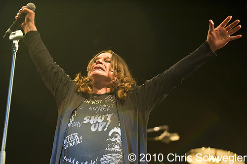 OZZY OSBOURNE WITH SPECIAL GUEST SLASH TO PERFORM AT THE PALACE SATURDAY, FEBRUARY 12, 2011