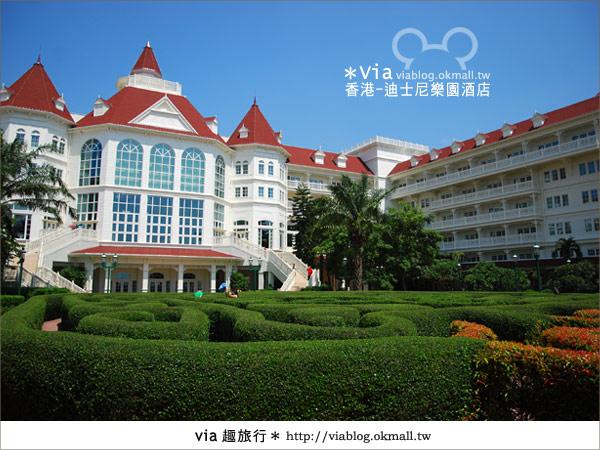 【香港住宿】跟著via玩香港(4)~迪士尼樂園酒店(外觀、房間篇)5