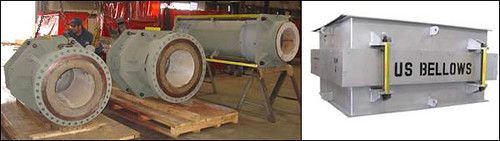 Refractory-lined Expansion Joints