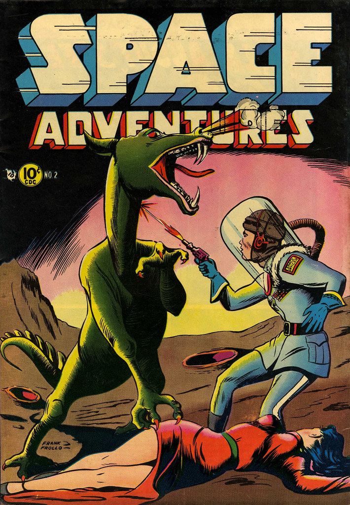 Space Adventures #2 (Dick Giordano Art) Charlton, 1952