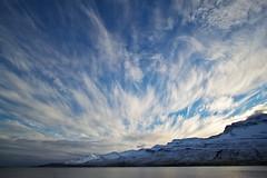 Clouds in Fskrsfjrur today (*Jonina*) Tags: sky mountains clouds iceland sland 1000views sk himinn fjll 2000views 3000views 2500views 4000views 25faves fskrsfjrur faskrudsfjordur jnnagurnskarsdttir