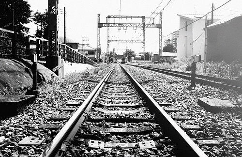 Never stop the train | Railway track