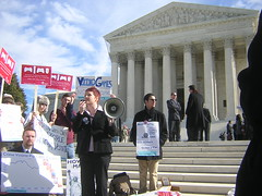 NYRA's Supreme Court Rally for Free Speech, Video Games and Youth Suffrage