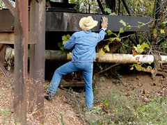 02 WS Old dredging for pumping water & mud (Wrangswet) Tags: wet clothed wranglers fully riverhike wetclothes swimmingfullyclothed wetjeans wranglerjeans guysinwetjeans wetladz wetcowboy swimminginjeans wetcowboyboots wetwranglerjeans meninwetjeans mudwallowing guysswimminginjeans swimminginboots wetwranlgers jeansswimming