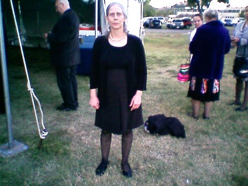 Bernie - Me in 2nd Funeral Outfit