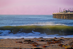 santa cruz pier (artfilmusic) Tags: ocean santa ca pier wave cruz