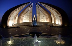 The National Monument, Islamabad. (Karrar Haidri) Tags: pakistan monument islamabad shakarparian