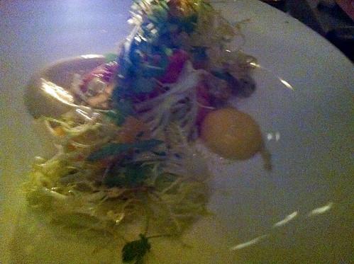 Lobster and Artichoke Salad, Riverpark