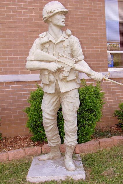 Stewart Co. Veterans Statue