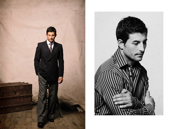 Male Modelling Portfolio, Formal Shots. Kent Johnson Photographer