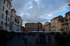 Campo De' Fiore (caseyr) Tags: italy rome roma italia piazza lazio giordanobruno campodefiore cieloromano