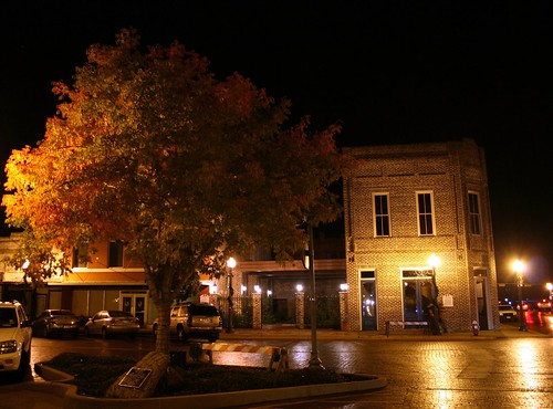 downtown nac in the fall