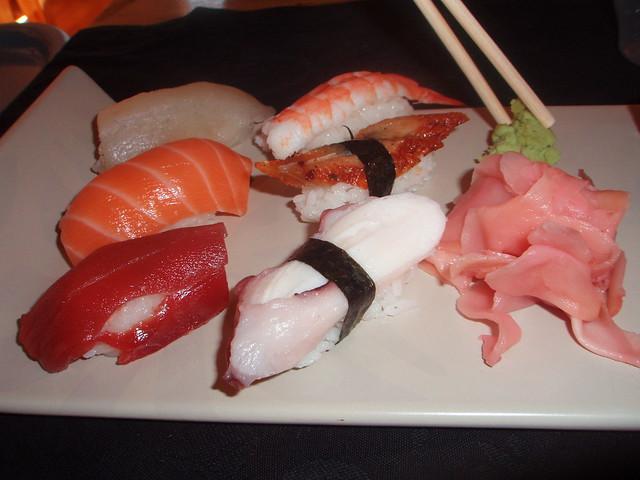 Sushi del Maguro-ya, restaurante japonés de Alicante