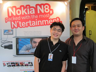 SingTel Nokia N8 Launch With David Archuleta 14112010