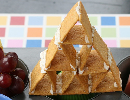 Wheat Thin pyramid