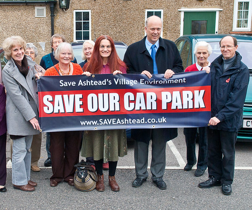 Save Our Car Park Banner