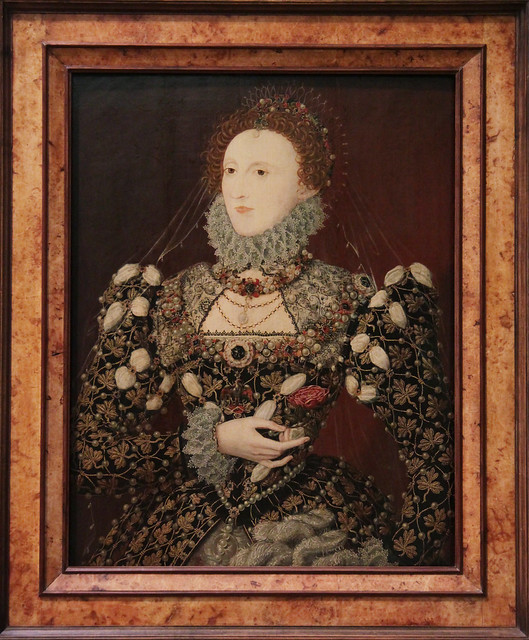 Queen Elizabeth I, attributed to Nicholas Hilliard, about 1572-5
