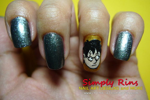 Nail Art Harry Potter 02