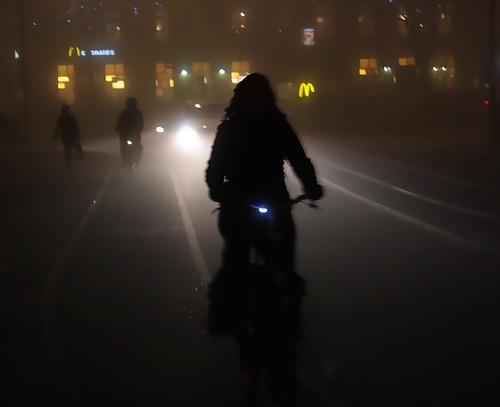 Névoa no outono holandês