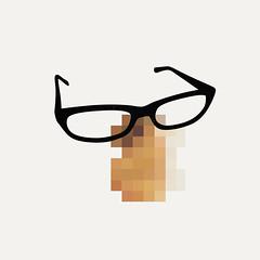 (diego mir) Tags: valencia illustration square nose glasses spain diego pixel nariz grfico berto ilustracin cuadrado gafasdepasta bertoromero diegomir diegomirilustracin
