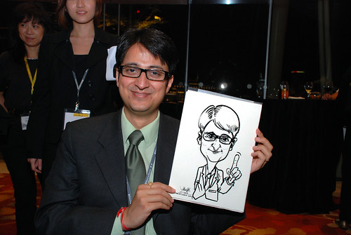 caricature live sketching for 2010 Asia Pacific Tax Symposium and Transfer Pricing Forum (Ernst & Young) - 13