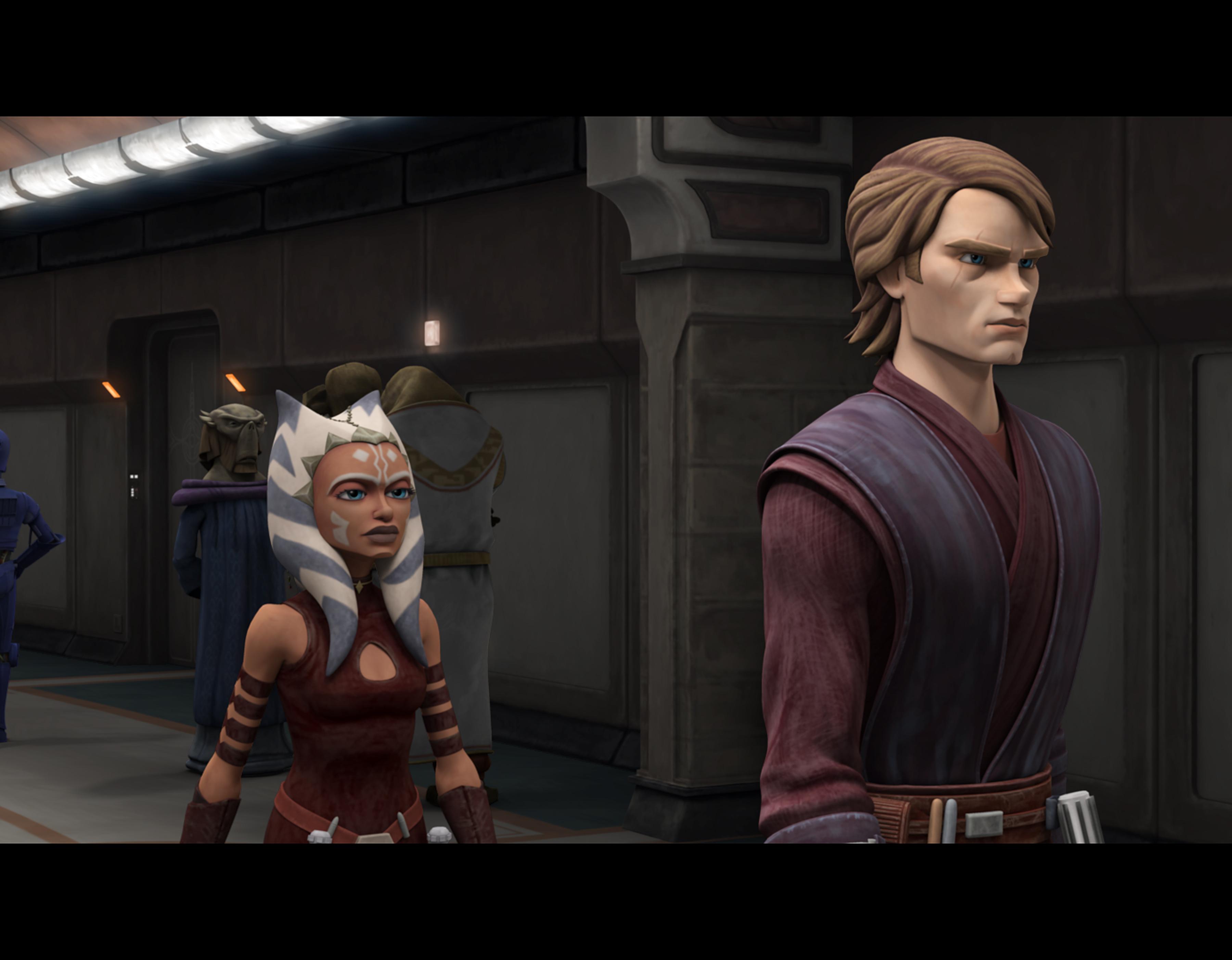 A new look for Anakin and Ahsoka