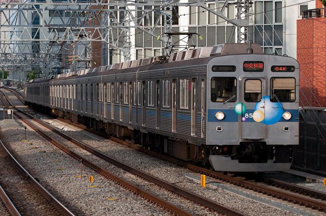 東急電鉄田園都市線8500系 8637F