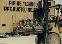 "Pipe Shoes For 14"" Pipe At A LNG Plant"