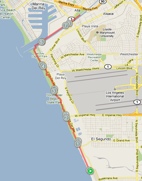 Operation Jack Marathon & Half Marathon route