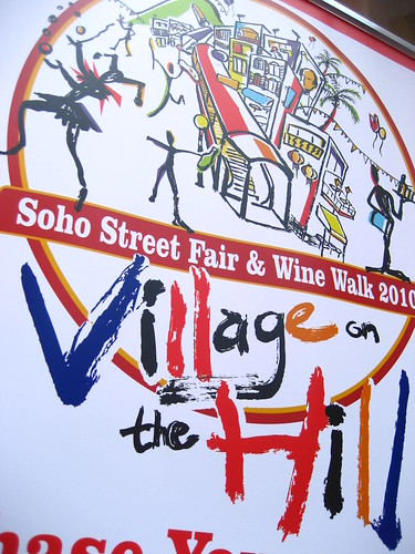 Soho Street Fair & Wine Walk 2010