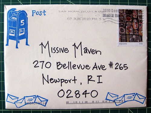 Meta mail stamps
