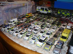 Only Part Of The Collection! (alan215067code3models) Tags: scale car fire model police ambulance collection 143
