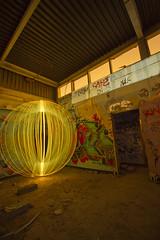 Abandoned leadworks again (- Hob -) Tags: longexposure lightpainting abandoned night raw possible derelict newcastleupontyne urbex elswick leadworks lightjunkies