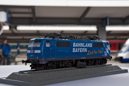 Handmuster der Bahnland Bayern-Lok