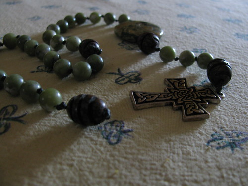 Rosary in Morning Light