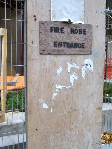 hose entrance