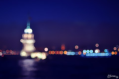 Bokeh Kulesi :) / Bokeh Tower (morkedi ) Tags: bokeh trkiye istanbul kzkulesi skdar 50mmf14d morkedi nikond90 maviblue themaidenstower morkedi bufotorafmdaexploreolmazsakendimiuradanatcamd bokehtower