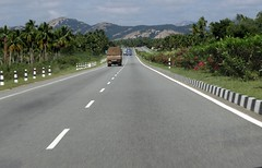 National Highway (Balaji Photography - 3,000,000 Views and Growing) Tags: travel india truck sony expressway roads load infra freight gq sonycybershot roadway nationalhighway gooda sonydsch55 roadinfra sonycybershotdsch55bangalorehighway
