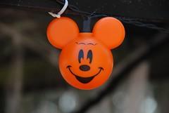 Halloween Mouse (Joe Shlabotnik) Tags: light orange usa halloween orlando holidays dof florida disney mickey celebration mickeymouse wdw waltdisneyworld 2010 faved fortwilderness 101010 october2010 bohka