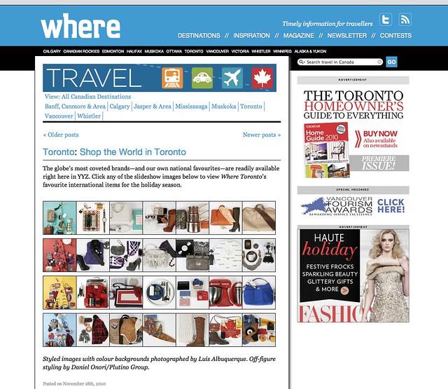 Where - November 17 2010 - Online by knotpr