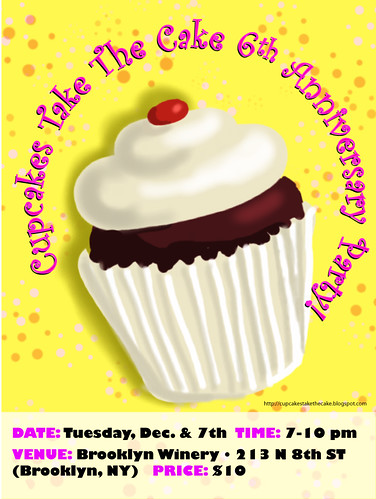 Cupcakes Take The Cake Anniversary Party