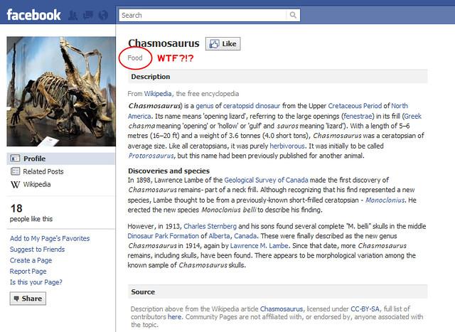 Facebook Chasmosaurus page