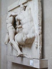 Parthenon Metope XXVII Oblique View