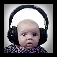 112710 (AgentThirteen) Tags: portrait music baby infant headphones 365
