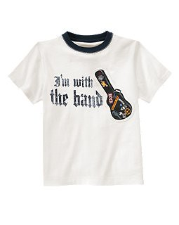 Gymboree Rock Band Tee