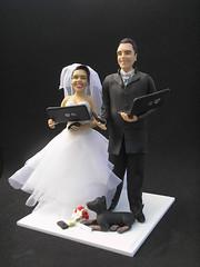 note (Katya Tchernev) Tags: wedding biscuit casamento decoração noiva bisqui caketoppers miniaturas noivos noivinhos estatuetas porcelanafria coldporcelain topodebolo noivinhospersonalizados decoraçãodecasamento noivinhosnobolo