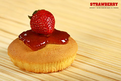 (Sultan alSultan ) Tags: wood red brown cup fruits cake photography strawberry photographer strawberries saudi arabia stick sultan riyadh mohamed