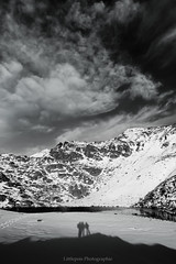 Nous y étions... (Littlepois Photographie) Tags: bw white lake snow black france mountains alpes nikon shadows noiretblanc 05 lac nb neige montagnes ombres d300 lr3 littlepois tokina1116f28atxpro