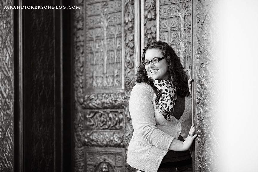 Kansas City Nelson Atkins Museum of Art senior photos