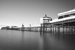 Blackpool North Pier (LP-Photomemories) Tags: longexposure blackandwhite bw exposure seascapes bwfilter 10stop seascapephotography blackpoolphotos seafrontphotography